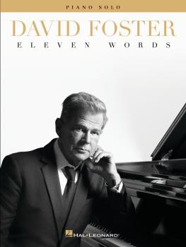David Foster - Eleven Words (HL-00329785)