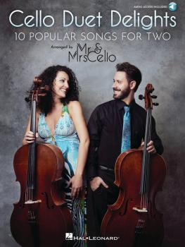 Cello Duet Delights: 10 Popular Songs for Two Arranged by Mr & Mrs Cel (HL-00323417)