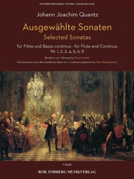 Selected Sonatas Flute and Basso Continuo: No. 1, 2, 3, 4, 5, 6, 8 (HL-50603502)