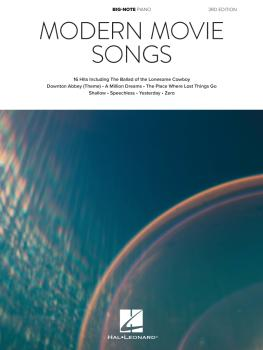 Modern Movie Songs - 3rd Edition (HL-00338185)