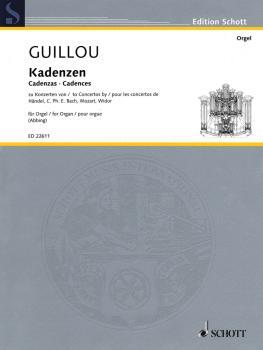 Cadenzas to Concertos by Handel, CPE Bach, Mozart, Widor (Organ) (HL-49045650)
