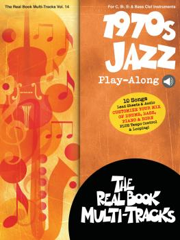 1970s Jazz Play-Along: Real Book Multi-Tracks Volume 14 (HL-00275652)