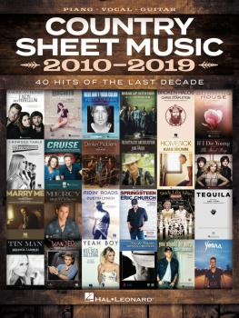 Country Sheet Music 2010-2019 (HL-00345260)