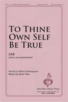 To Thine Own Self Be True (HL-00346844)