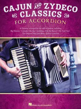 Cajun & Zydeco Classics for Accordion (HL-00328644)