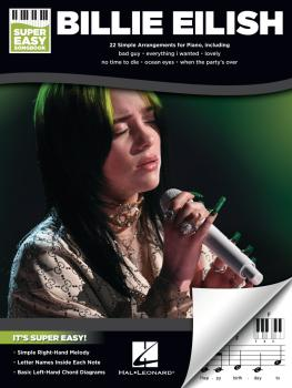 Billie Eilish - Super Easy Songbook (HL-00346515)