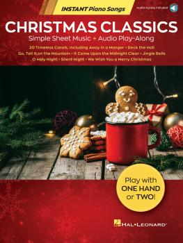 Christmas Classics - Instant Piano Songs: Simple Sheet Music + Audio P (HL-00348326)