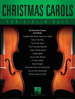 Christmas Carols for Violin Duet (HL-00348320)
