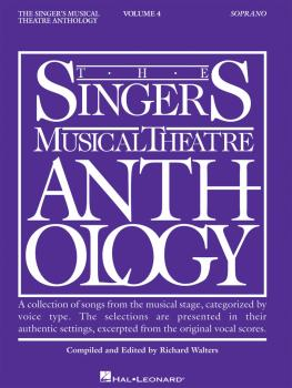 Singer's Musical Theatre Anthology - Volume 4 (Soprano Book Only) (HL-00000393)