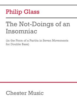 The Not-Doings of an Insomniac: Partita for Double Bass and Poetry Rea (HL-50602262)