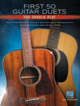 First 50 Guitar Duets You Should Play (HL-00319706)