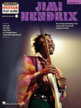 Jimi Hendrix: Deluxe Guitar Play-Along Volume 24 (HL-00324610)