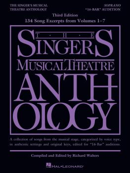 The Singer's Musical Theatre Anthology - 16-Bar Audition - 3rd Edition (HL-00329321)