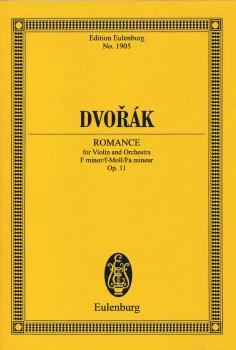 Romance, Op. 11 (for Violin and Orchestra Edition Eulenburg No. 1905) (HL-49046503)