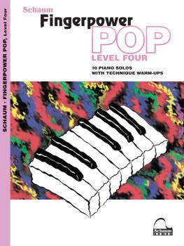 Fingerpower Pop - Level 4: 10 Piano Solos with Technique Warm-Ups (HL-00282867)