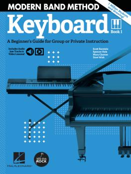 Modern Band Method - Keyboard, Book 1: A Beginner's Guide for Group or (HL-00325721)