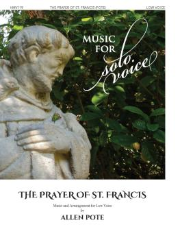 The Prayer of St. Francis: Music for Solo Voice Series - Low Voice (HL-00356214)