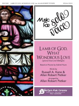 Lamb of God, What Wondrous Love: Music for Solo Voice Series Vocal Sol (HL-00356269)