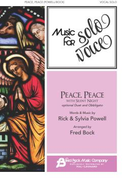 Peace, Peace with Silent Night: Music for Solo Voice Series Vocal Solo (HL-00356272)