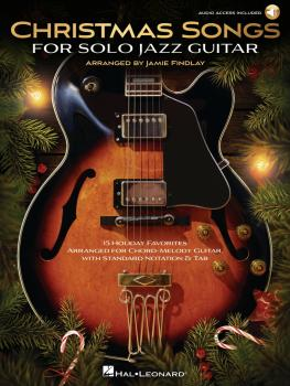 Christmas Songs for Solo Jazz Guitar (HL-00349209)