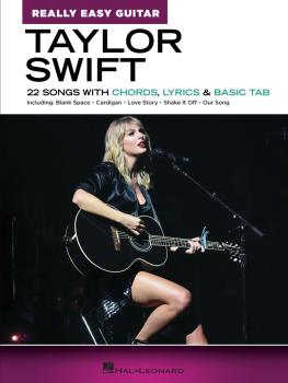 Taylor Swift - Really Easy Guitar (HL-00356881)