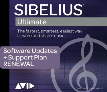 Annual Upgrade and Support Plan Renewal for Sibelius (HL-00194922)