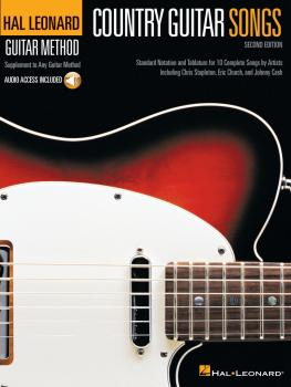 Country Guitar Songs - 2nd Edition: Hal Leonard Guitar Method (HL-00354721)
