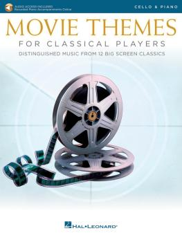Movie Themes for Classical Players - Cello and Piano (With online audi (HL-00284607)