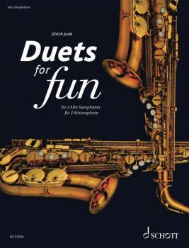 Duets for Fun (for 2 Alto Saxophones Performance Score) (HL-49046496)
