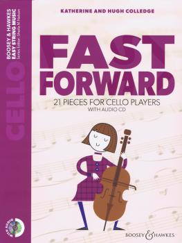 Fast Forward: 21 Pieces for Cello Players Cello Part Only with CD (HL-48024577)