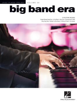 Big Band Era: Jazz Piano Solos Series Volume 58 (HL-00284837)