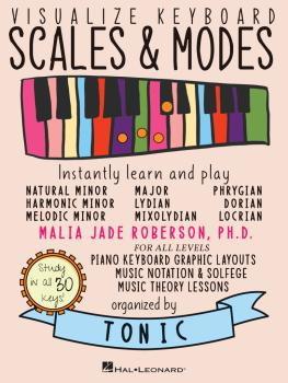 Visualize Keyboard Scales & Modes: Instantly Learn and Play, Designed  (HL-00337712)