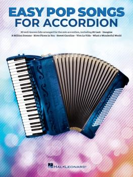 Easy Pop Songs for Accordion (HL-00346566)