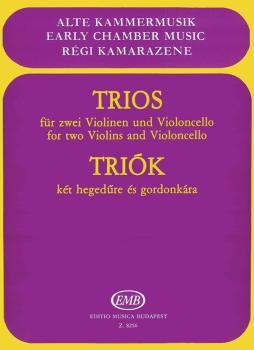 Trios for Two Violins and Violoncello (HL-50510887)
