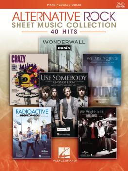 Alternative Rock Sheet Music Collection - 2nd Edition (40 Hits) (HL-00356431)