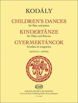 Children's Dances (for Flute and Piano) (HL-50603601)
