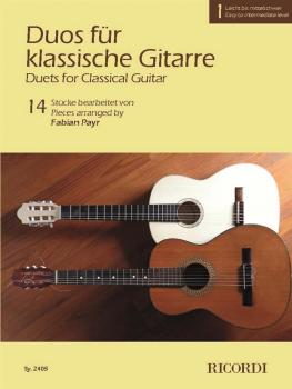 Duets for Classical Guitar, Volume 1: 14 Pieces Arranged for 2 Guitars (HL-50603606)