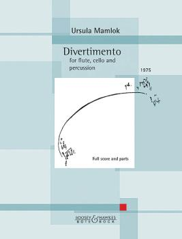 Divertimento (for Flute, Cello and Percussion Score and Parts) (HL-48024346)