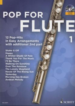 Pop for Flute Book 1: 12 Pop-Hits in Easy Arrangements with additional (HL-49046199)