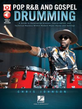 Pop, R&B & Gospel Drumming: Book with 3+ Hours of Video Content (HL-00288909)