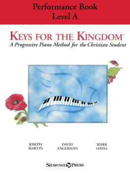 Keys for the Kingdom - Performance Book, Level A: A Progressive Piano  (HL-00323875)