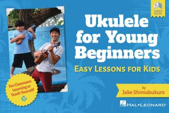 Ukulele for Young Beginners: Easy Lessons for Kids with Video Lessons (HL-00326868)