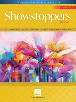 Showstoppers, Book 1: 10 Original Easy Intermediate-Level Piano Solos  (HL-00355594)