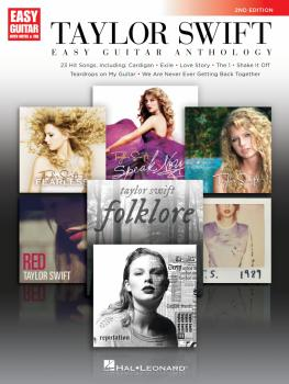 Taylor Swift - Easy Guitar Anthology (2nd Edition) (HL-00359800)