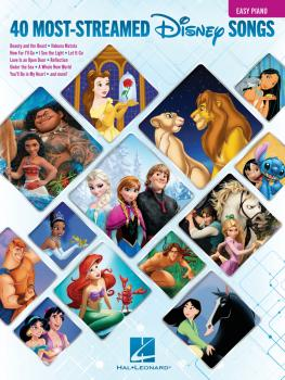 The 40 Most-Streamed Disney Songs (HL-00295713)