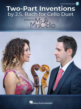 Two Part Inventions by J.S. Bach for Cello Duet (Arranged by Mr. & Mrs (HL-00361600)