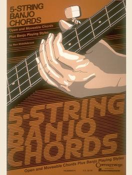 5-String Banjo Chord Chart (HL-00000074)