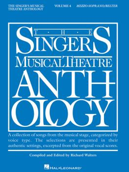 Singer's Musical Theatre Anthology - Volume 4: Mezzo-Soprano/Belter Bo (HL-00000394)
