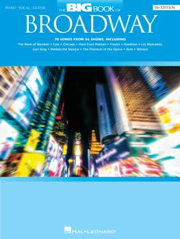 The Big Book of Broadway - 5th Edition (HL-00299346)