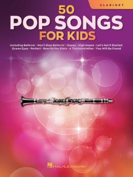 50 Pop Songs for Kids (for Clarinet) (HL-00350959)